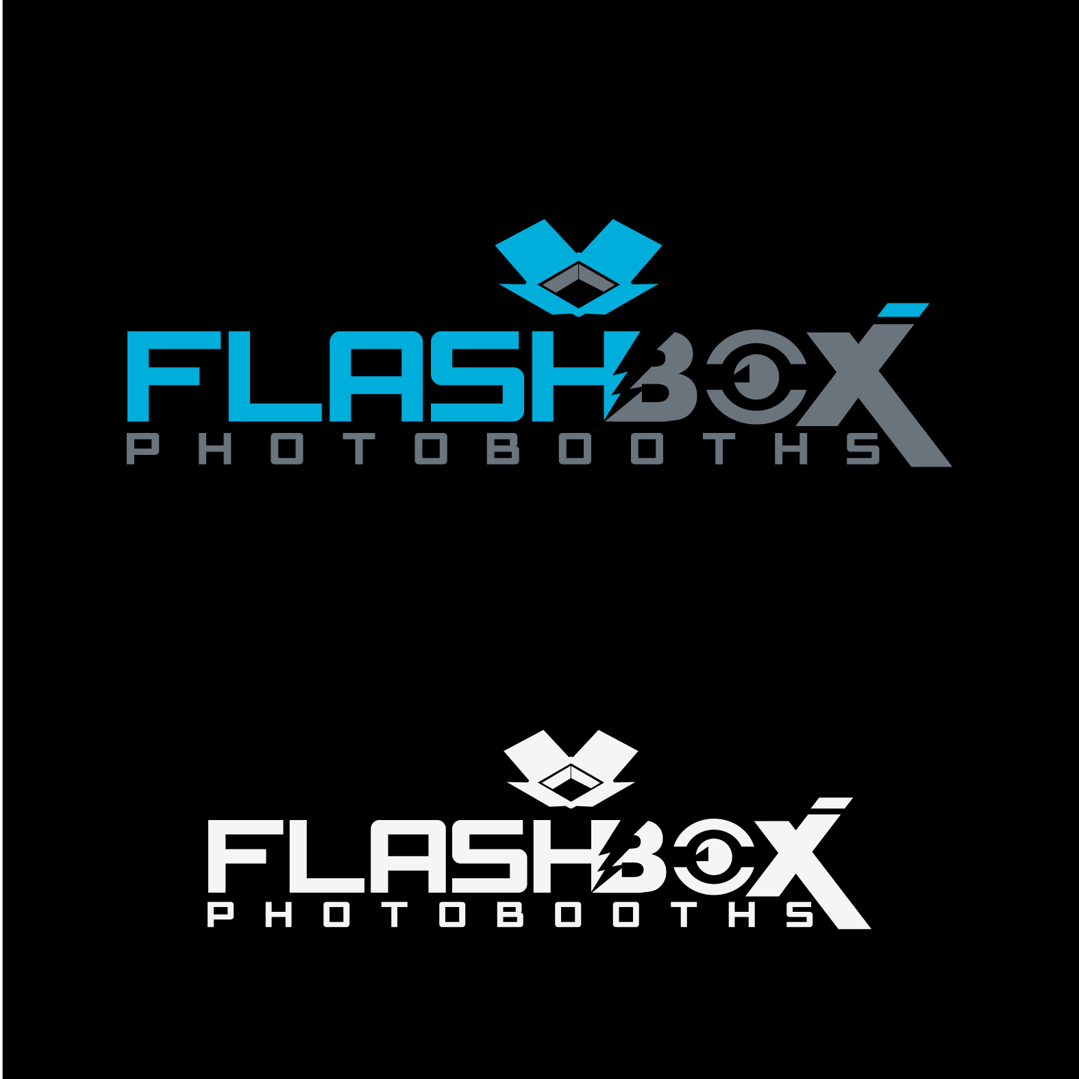 Logo Design by lagalag - Entry No. 55 in the Logo Design Contest New Logo Design for FlashBox Photobooths.