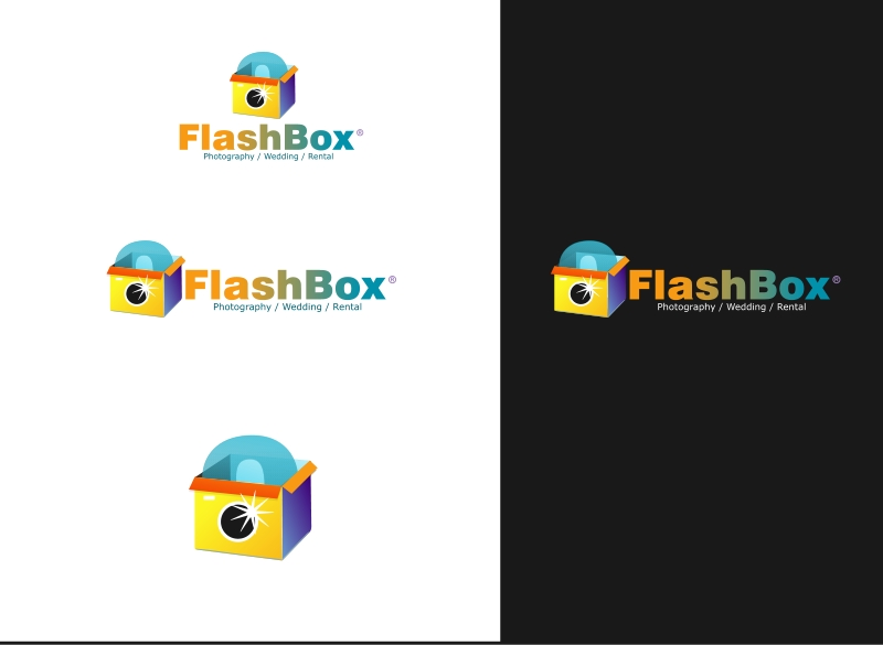 Logo Design by Private User - Entry No. 56 in the Logo Design Contest New Logo Design for FlashBox Photobooths.