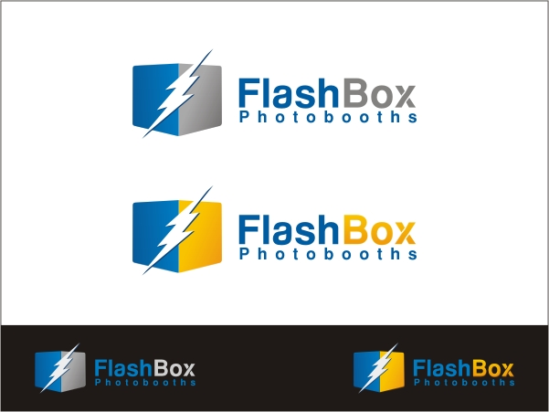 Logo Design by RED HORSE design studio - Entry No. 62 in the Logo Design Contest New Logo Design for FlashBox Photobooths.