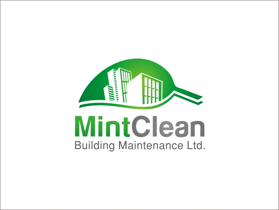Logo Design by RED HORSE design studio - Entry No. 93 in the Logo Design Contest MintClean Building Maintenance Ltd. Logo Design.