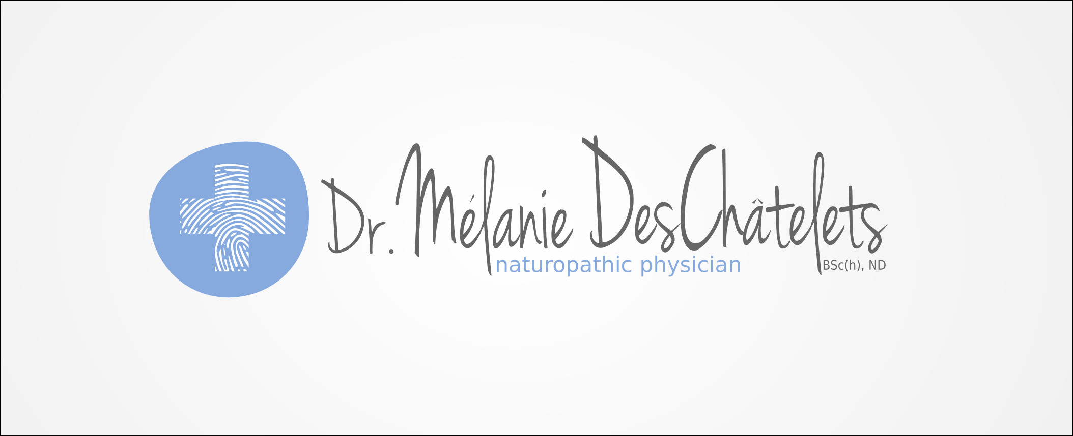 Logo Design by Andrew Bertram - Entry No. 152 in the Logo Design Contest Artistic Logo Design for Dr Mélanie DesChâtelets.