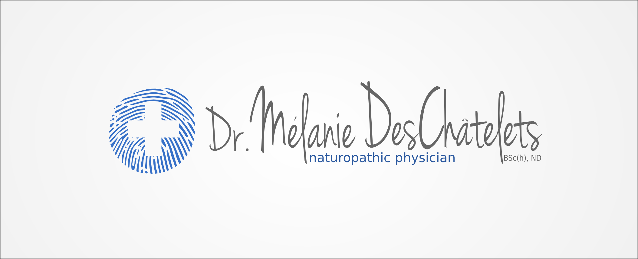 Logo Design by Andrew Bertram - Entry No. 153 in the Logo Design Contest Artistic Logo Design for Dr Mélanie DesChâtelets.