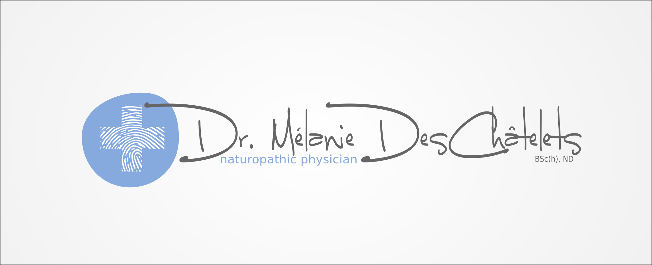 Logo Design by Andrew Bertram - Entry No. 154 in the Logo Design Contest Artistic Logo Design for Dr Mélanie DesChâtelets.