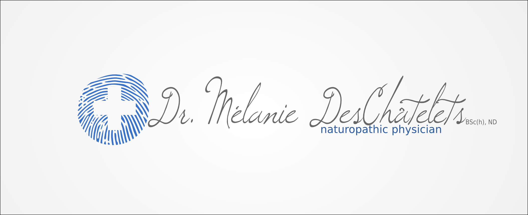 Logo Design by Andrew Bertram - Entry No. 155 in the Logo Design Contest Artistic Logo Design for Dr Mélanie DesChâtelets.