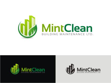 Logo Design by key - Entry No. 94 in the Logo Design Contest MintClean Building Maintenance Ltd. Logo Design.