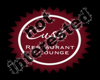 Logo Design by Tishia - Entry No. 134 in the Logo Design Contest Cush Restaurant & Lounge Ltd..