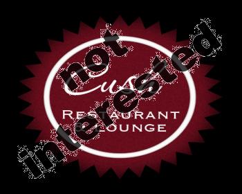 Logo Design by Tishia - Entry No. 134 in the Logo Design Contest Cush Restaurant & Lounge Ltd..