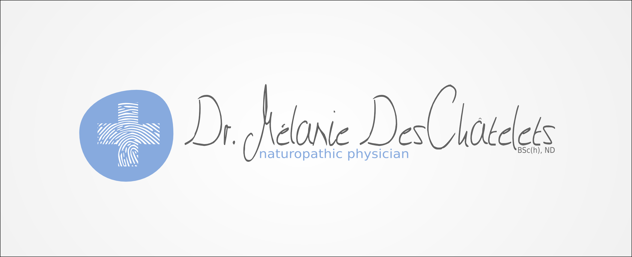 Logo Design by Andrew Bertram - Entry No. 156 in the Logo Design Contest Artistic Logo Design for Dr Mélanie DesChâtelets.