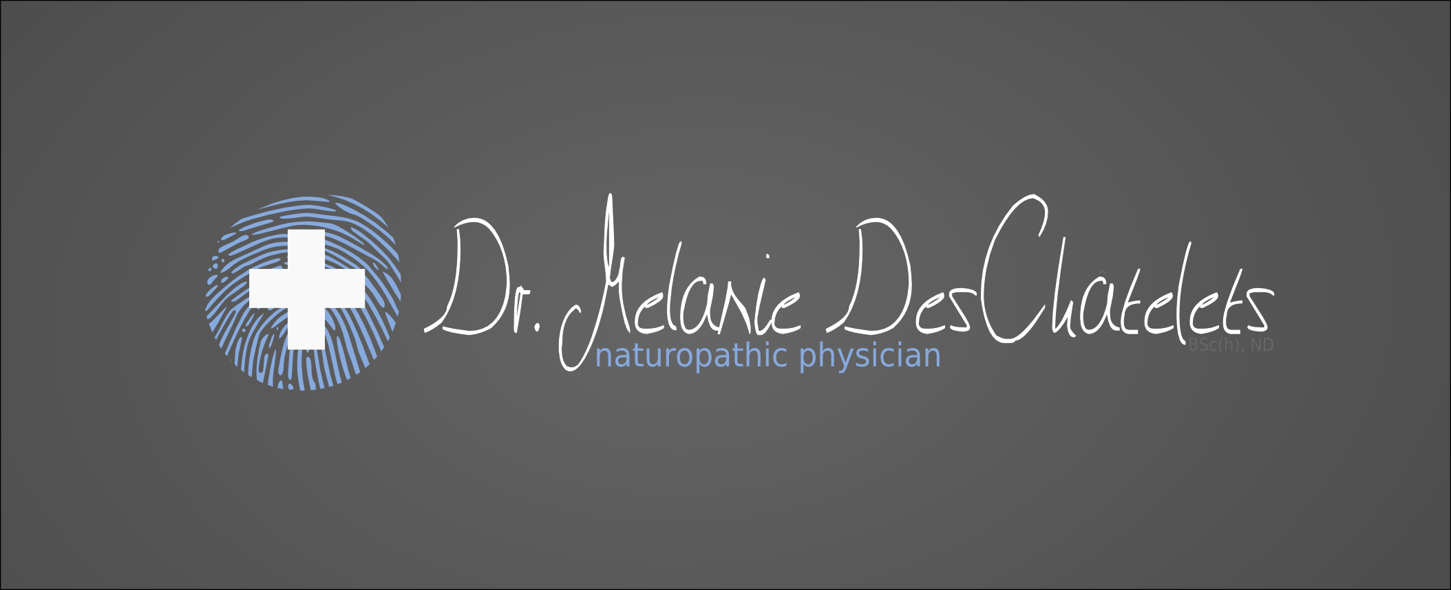 Logo Design by Andrew Bertram - Entry No. 157 in the Logo Design Contest Artistic Logo Design for Dr Mélanie DesChâtelets.