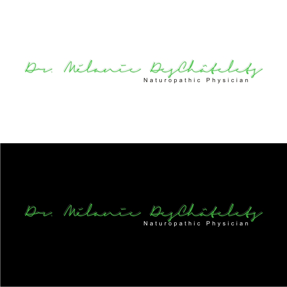 Logo Design by Mbelgedez - Entry No. 159 in the Logo Design Contest Artistic Logo Design for Dr Mélanie DesChâtelets.