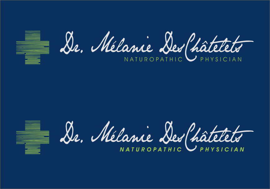 Logo Design by Ngepet_art - Entry No. 163 in the Logo Design Contest Artistic Logo Design for Dr Mélanie DesChâtelets.