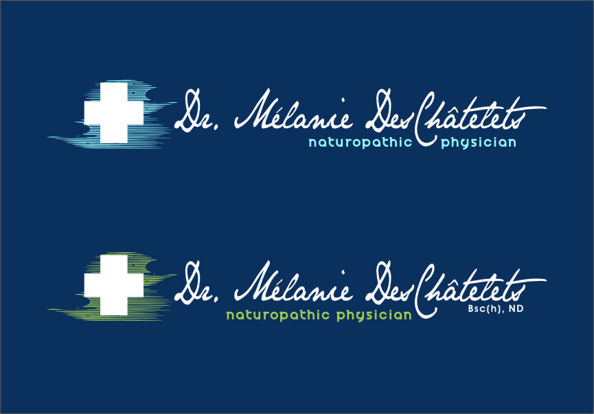 Logo Design by Ngepet_art - Entry No. 164 in the Logo Design Contest Artistic Logo Design for Dr Mélanie DesChâtelets.