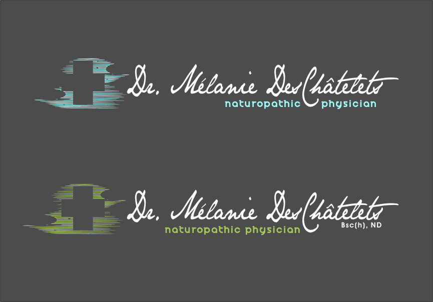 Logo Design by RasYa Muhammad Athaya - Entry No. 165 in the Logo Design Contest Artistic Logo Design for Dr Mélanie DesChâtelets.