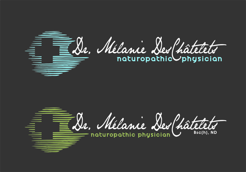 Logo Design by RasYa Muhammad Athaya - Entry No. 167 in the Logo Design Contest Artistic Logo Design for Dr Mélanie DesChâtelets.