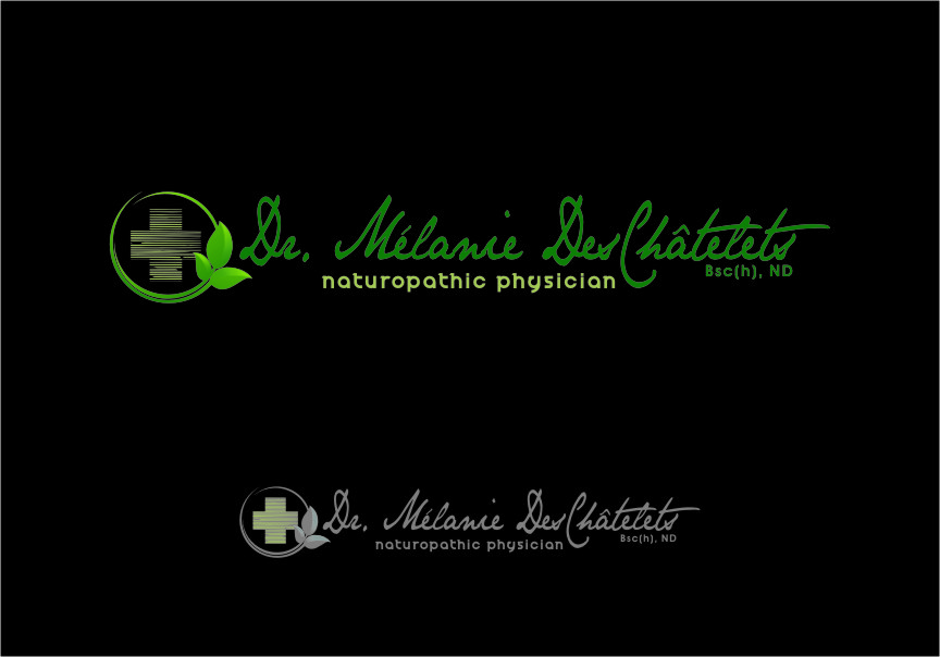Logo Design by Ngepet_art - Entry No. 168 in the Logo Design Contest Artistic Logo Design for Dr Mélanie DesChâtelets.