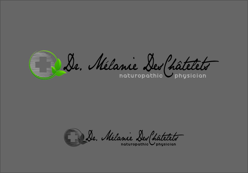 Logo Design by Ngepet_art - Entry No. 173 in the Logo Design Contest Artistic Logo Design for Dr Mélanie DesChâtelets.