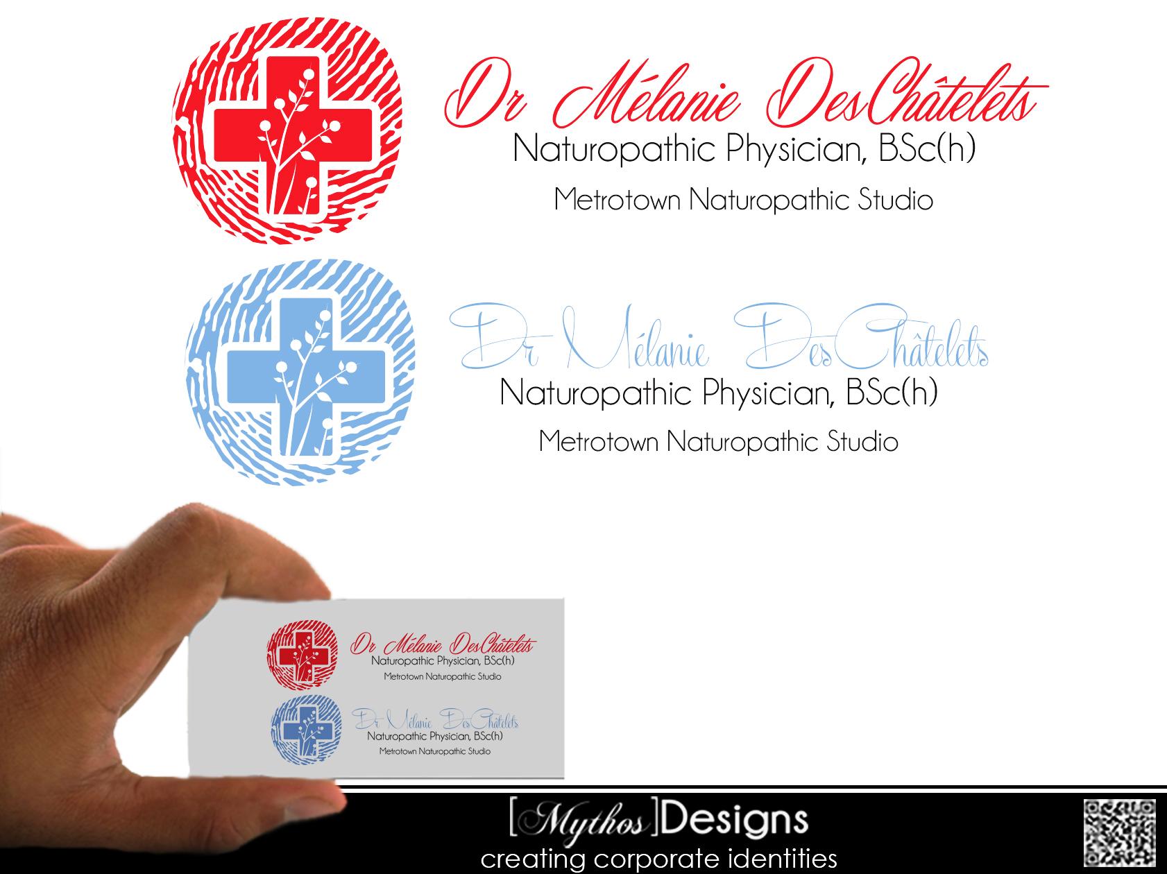 Logo Design by Mythos Designs - Entry No. 175 in the Logo Design Contest Artistic Logo Design for Dr Mélanie DesChâtelets.