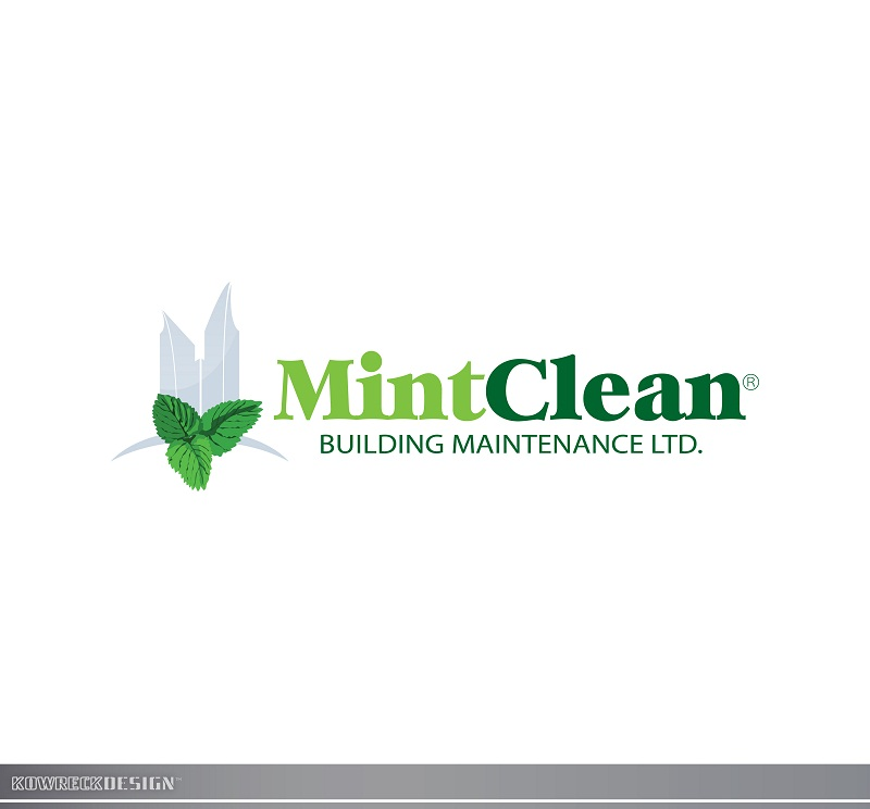 Logo Design by kowreck - Entry No. 96 in the Logo Design Contest MintClean Building Maintenance Ltd. Logo Design.