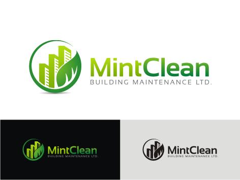 Logo Design by key - Entry No. 98 in the Logo Design Contest MintClean Building Maintenance Ltd. Logo Design.