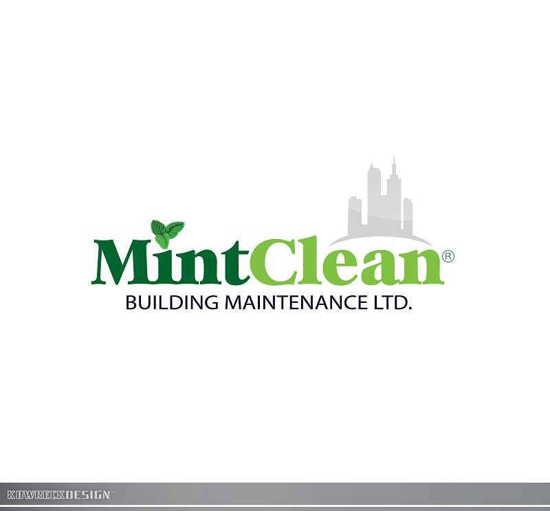 Logo Design by kowreck - Entry No. 99 in the Logo Design Contest MintClean Building Maintenance Ltd. Logo Design.