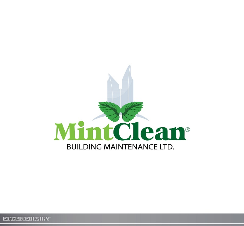 Logo Design by kowreck - Entry No. 100 in the Logo Design Contest MintClean Building Maintenance Ltd. Logo Design.