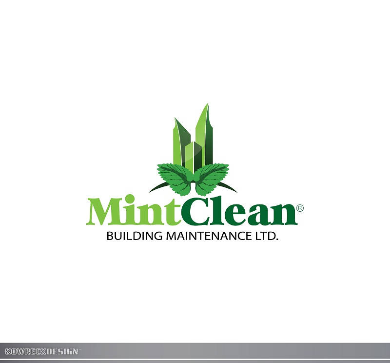 Logo Design by kowreck - Entry No. 101 in the Logo Design Contest MintClean Building Maintenance Ltd. Logo Design.