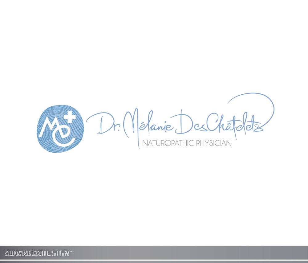 Logo Design by kowreck - Entry No. 182 in the Logo Design Contest Artistic Logo Design for Dr Mélanie DesChâtelets.