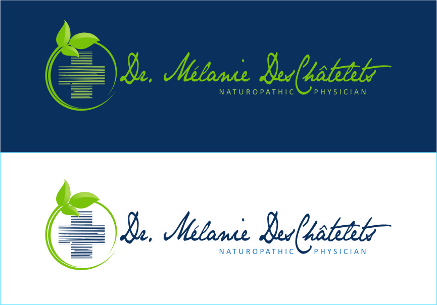 Logo Design by RoSyid Rono-Rene On Java - Entry No. 190 in the Logo Design Contest Artistic Logo Design for Dr Mélanie DesChâtelets.