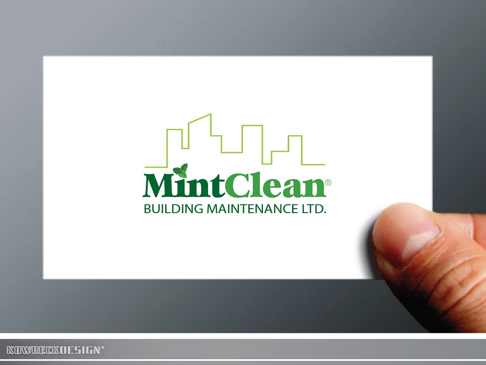Logo Design by kowreck - Entry No. 106 in the Logo Design Contest MintClean Building Maintenance Ltd. Logo Design.