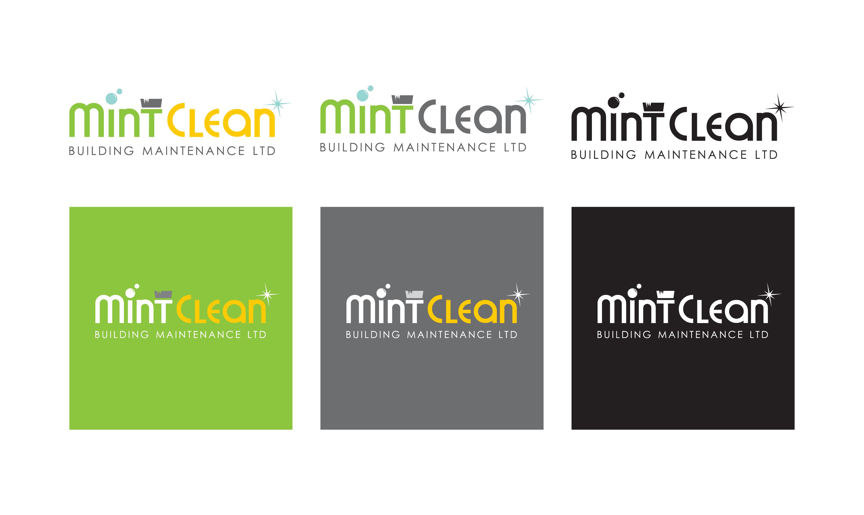 Logo Design by Vasil Boyadzhiev - Entry No. 107 in the Logo Design Contest MintClean Building Maintenance Ltd. Logo Design.