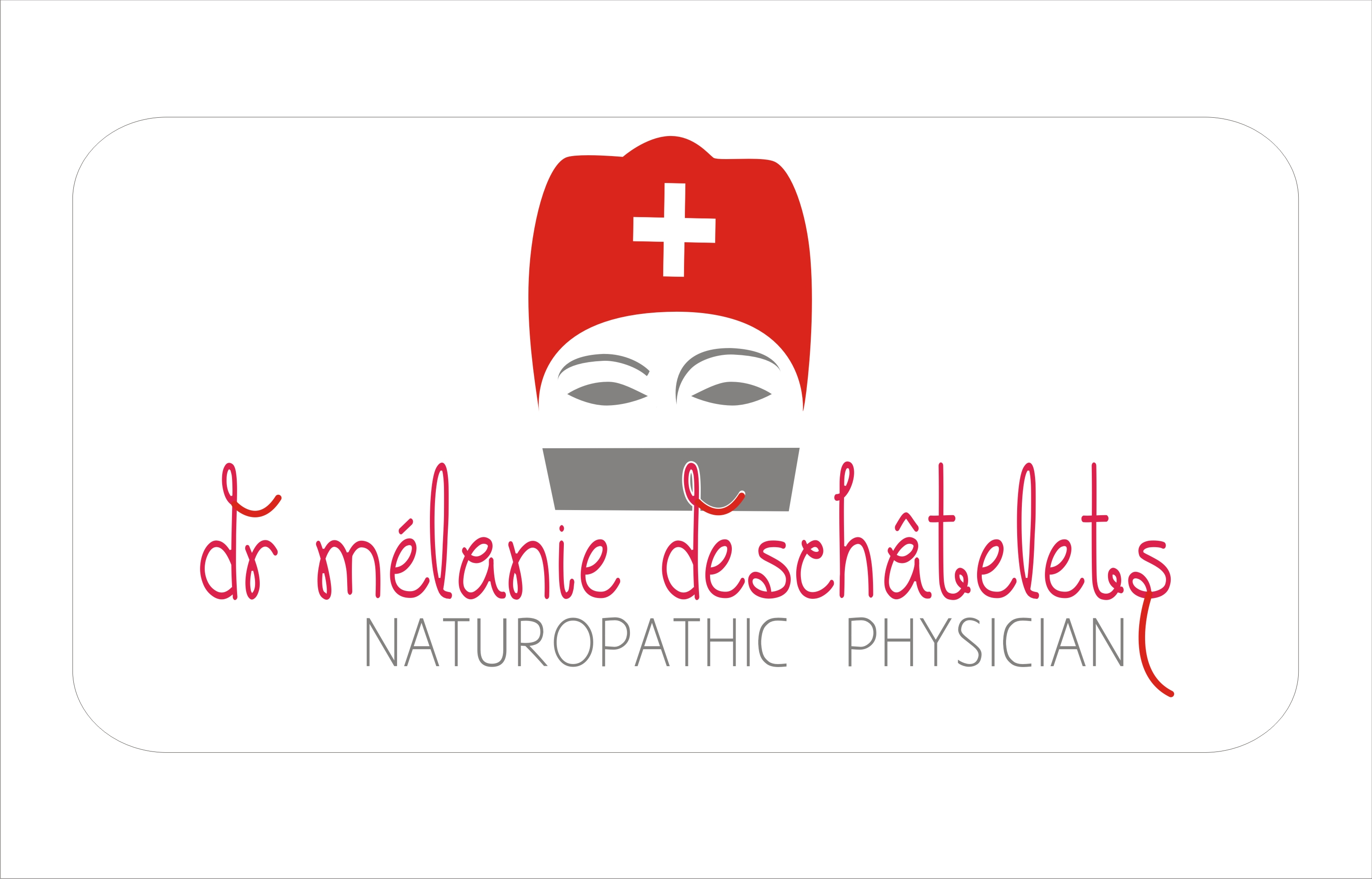 Logo Design by Sandip Kumar - Entry No. 205 in the Logo Design Contest Artistic Logo Design for Dr Mélanie DesChâtelets.