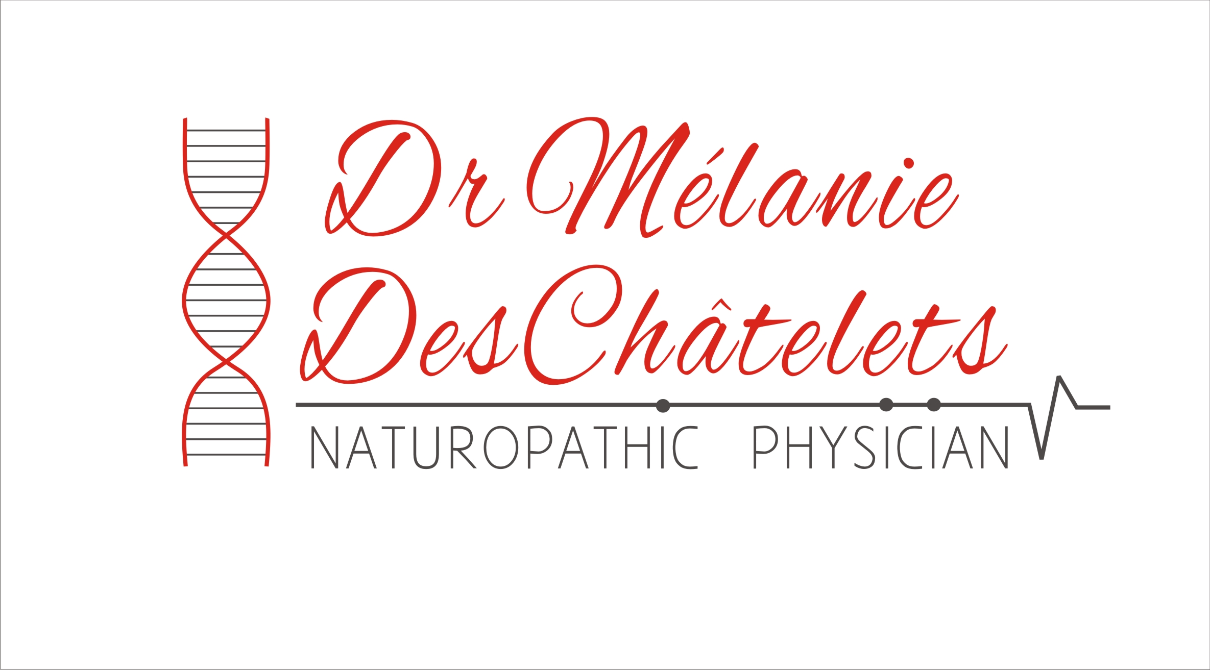 Logo Design by Sandip Kumar - Entry No. 207 in the Logo Design Contest Artistic Logo Design for Dr Mélanie DesChâtelets.