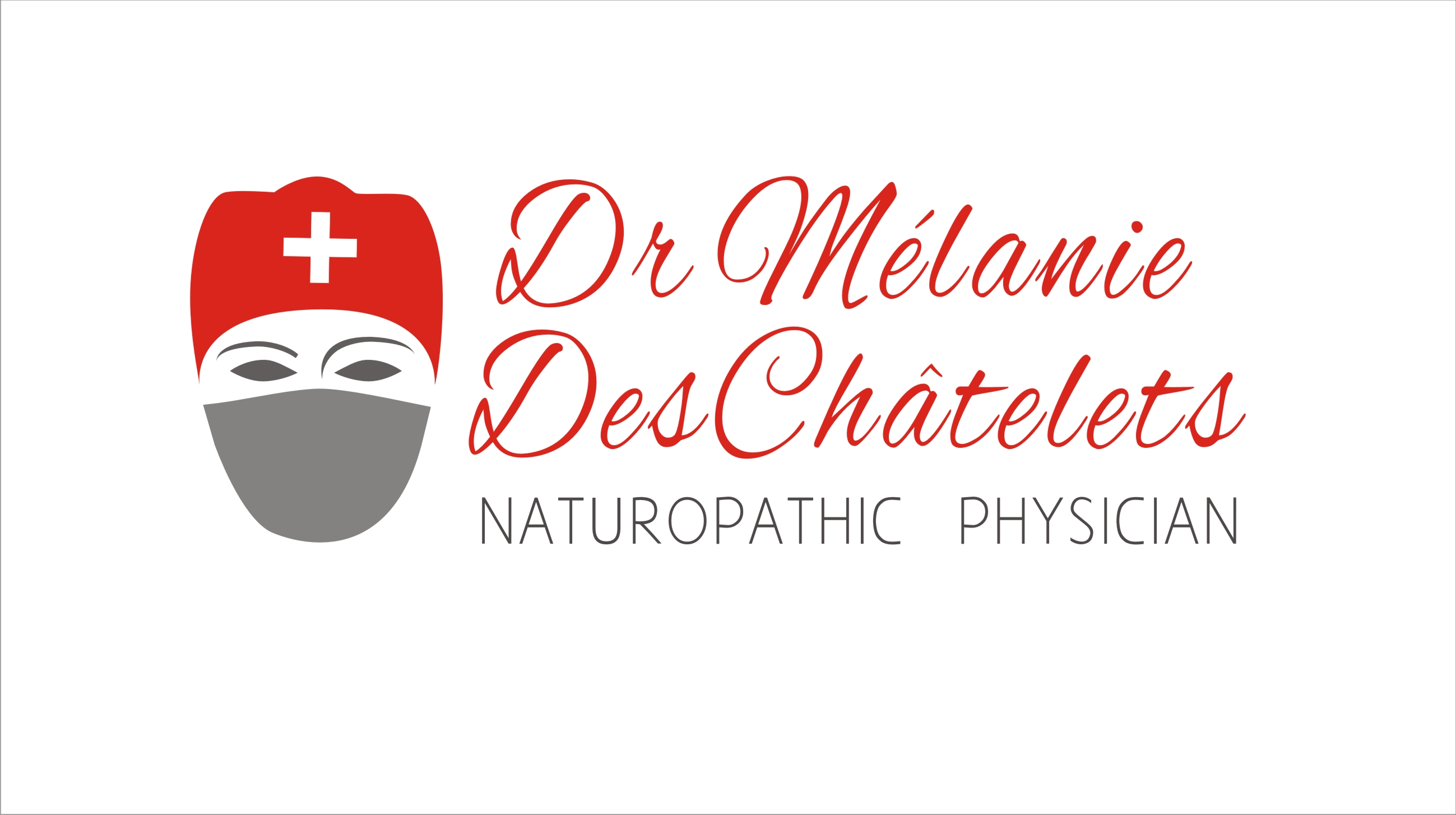 Logo Design by Sandip Kumar - Entry No. 208 in the Logo Design Contest Artistic Logo Design for Dr Mélanie DesChâtelets.