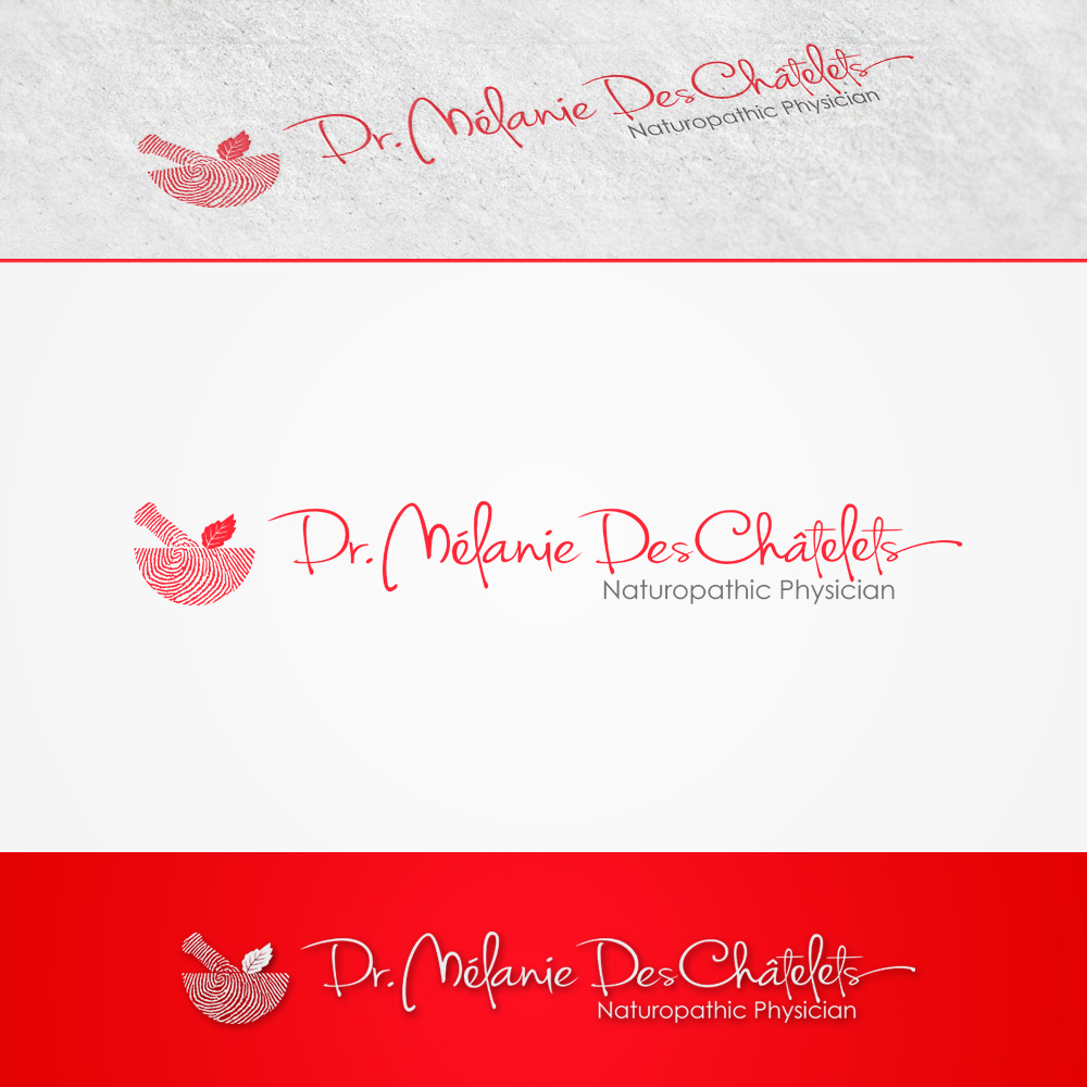Logo Design by omARTist - Entry No. 209 in the Logo Design Contest Artistic Logo Design for Dr Mélanie DesChâtelets.