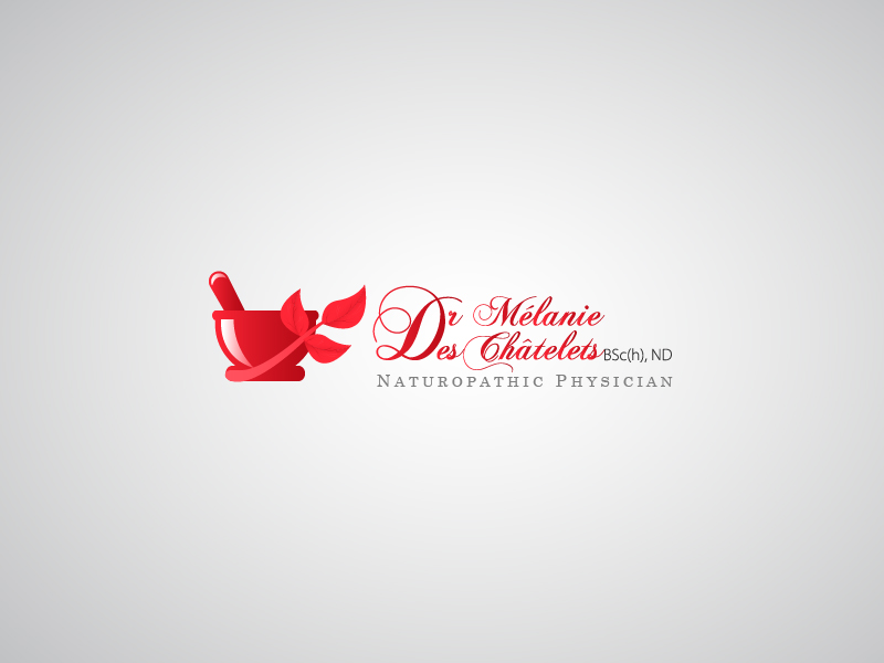 Logo Design by Hafeez Shamsuddin - Entry No. 210 in the Logo Design Contest Artistic Logo Design for Dr Mélanie DesChâtelets.