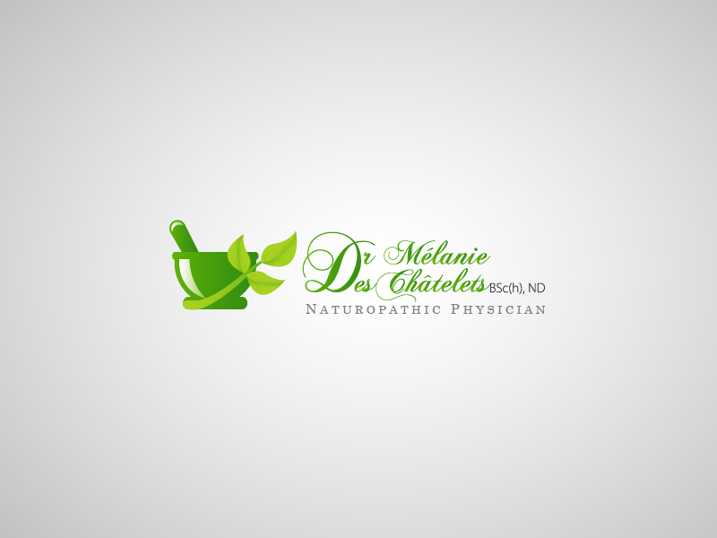 Logo Design by Hafeez Shamsuddin - Entry No. 211 in the Logo Design Contest Artistic Logo Design for Dr Mélanie DesChâtelets.