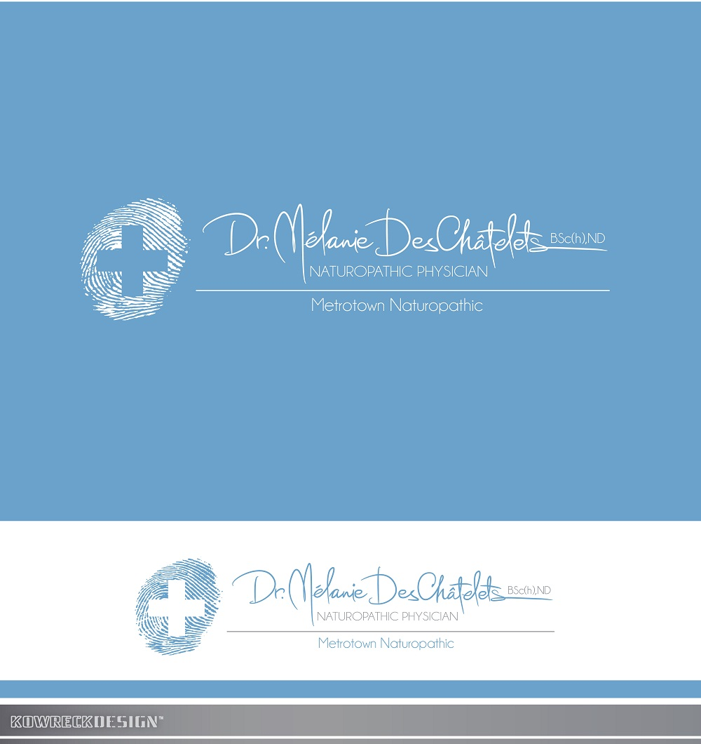 Logo Design by kowreck - Entry No. 217 in the Logo Design Contest Artistic Logo Design for Dr Mélanie DesChâtelets.