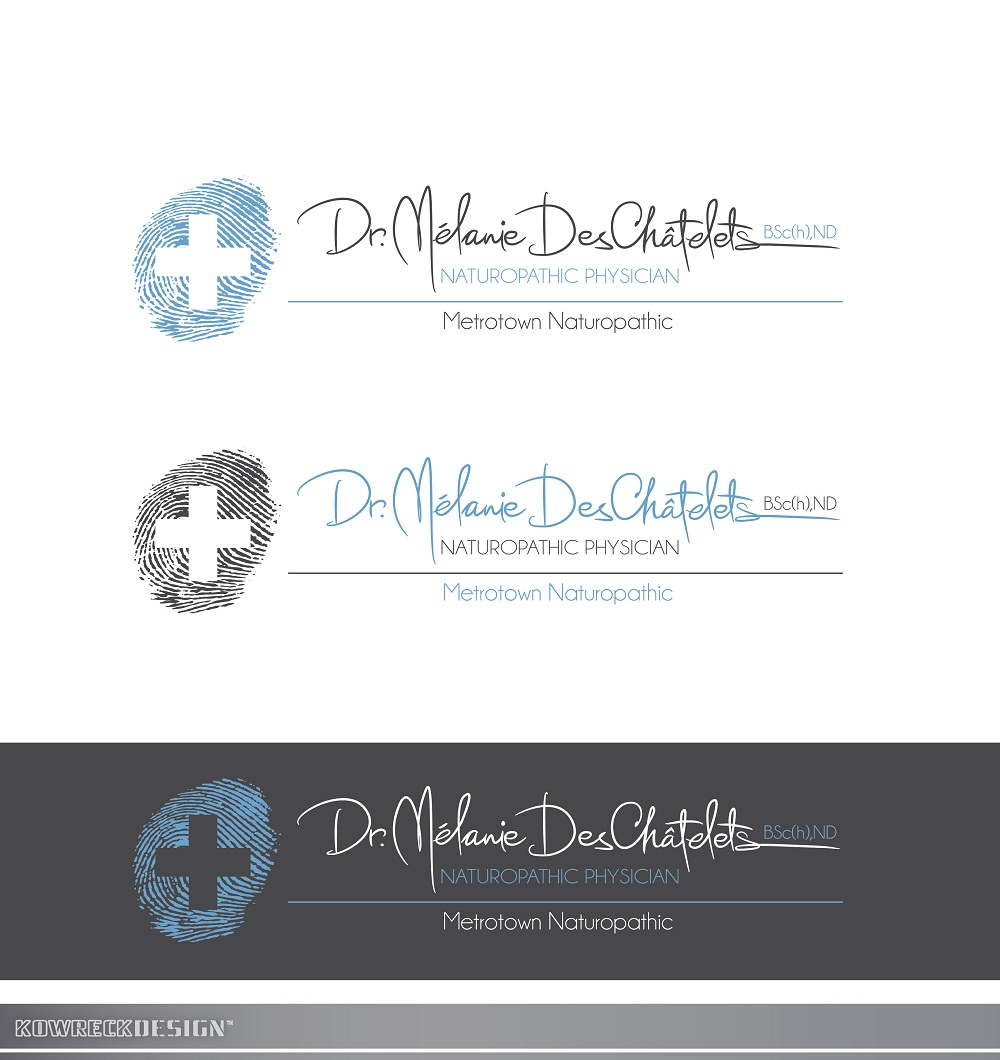 Logo Design by kowreck - Entry No. 219 in the Logo Design Contest Artistic Logo Design for Dr Mélanie DesChâtelets.