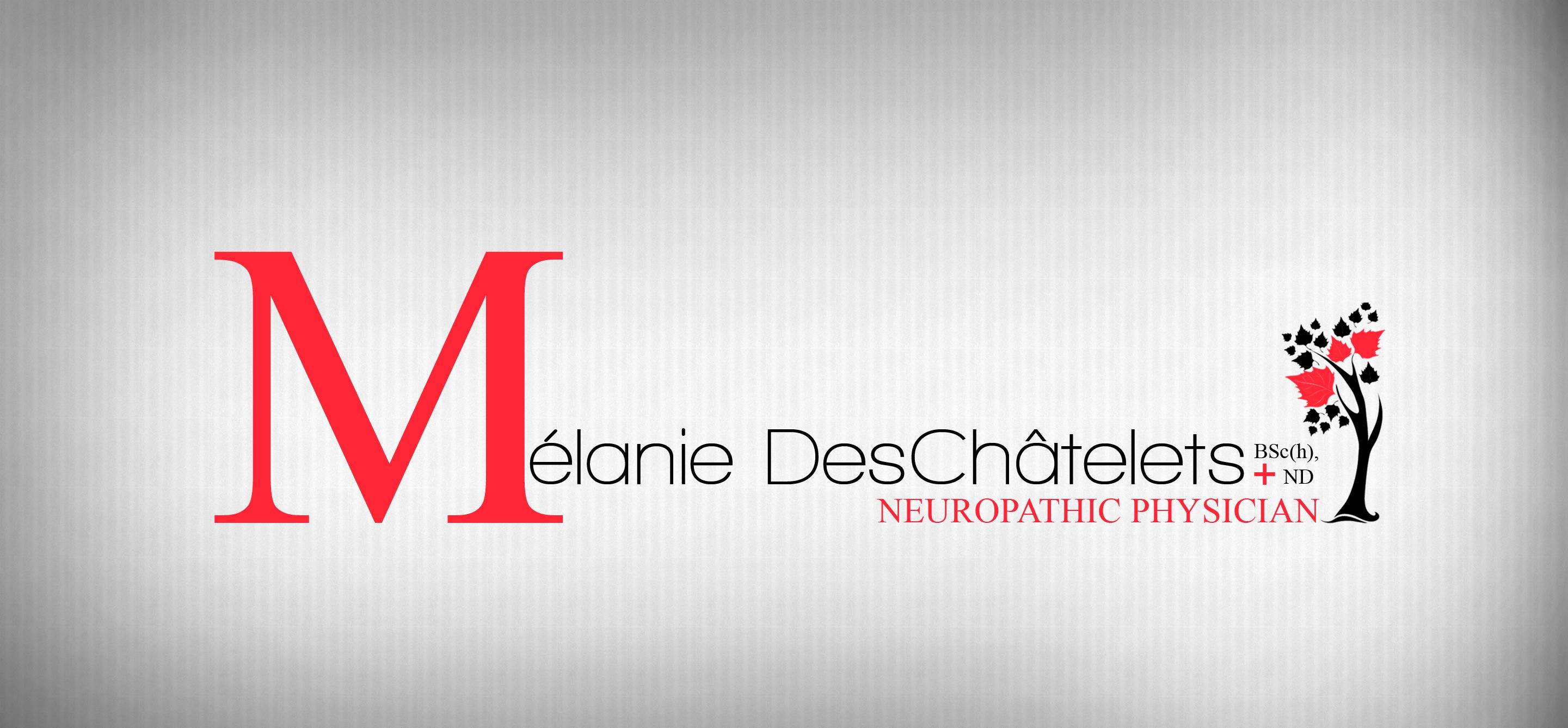 Logo Design by Sandip Kumar - Entry No. 220 in the Logo Design Contest Artistic Logo Design for Dr Mélanie DesChâtelets.
