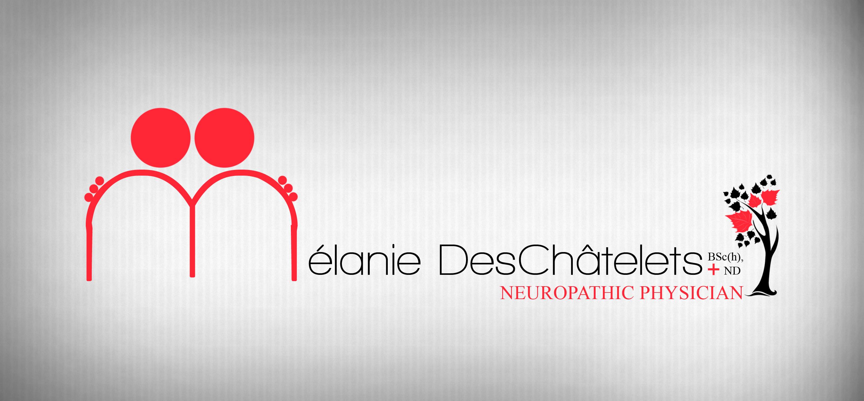 Logo Design by Sandip Kumar - Entry No. 221 in the Logo Design Contest Artistic Logo Design for Dr Mélanie DesChâtelets.