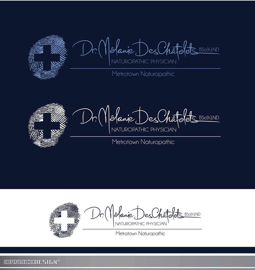 Logo Design by kowreck - Entry No. 222 in the Logo Design Contest Artistic Logo Design for Dr Mélanie DesChâtelets.