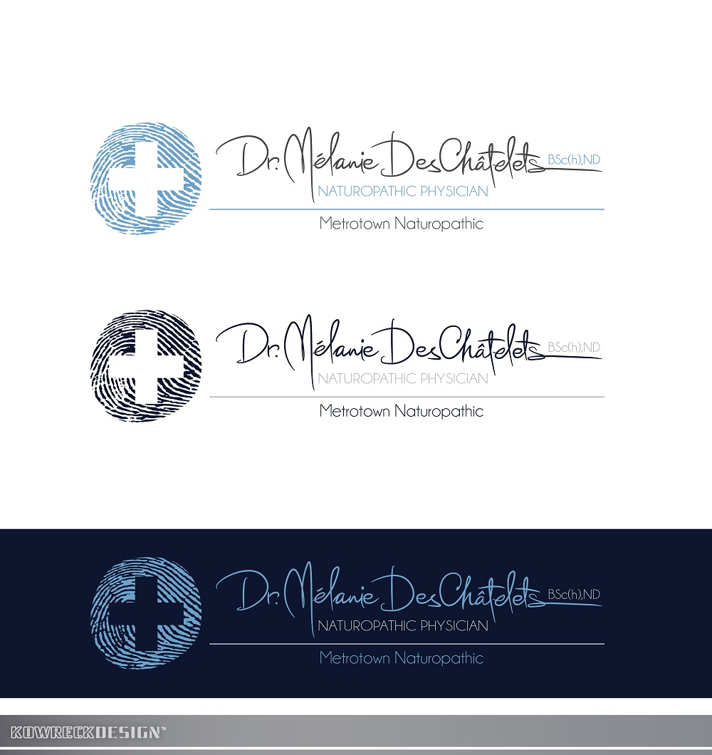 Logo Design by kowreck - Entry No. 223 in the Logo Design Contest Artistic Logo Design for Dr Mélanie DesChâtelets.