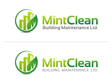 Logo Design by key - Entry No. 116 in the Logo Design Contest MintClean Building Maintenance Ltd. Logo Design.