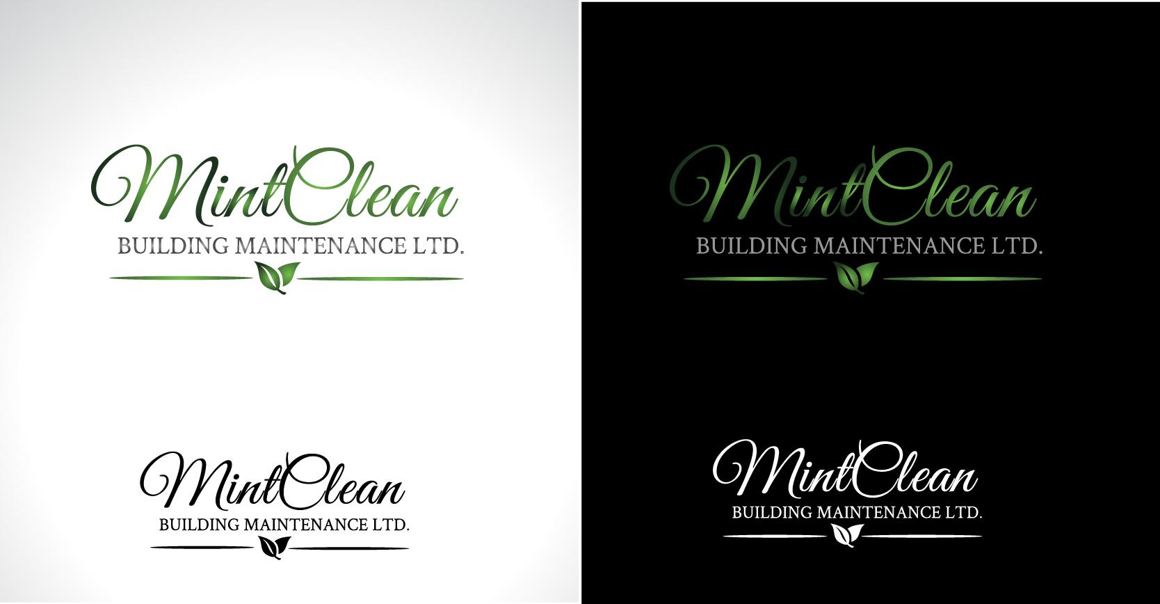 Logo Design by Darina Dimitrova - Entry No. 117 in the Logo Design Contest MintClean Building Maintenance Ltd. Logo Design.