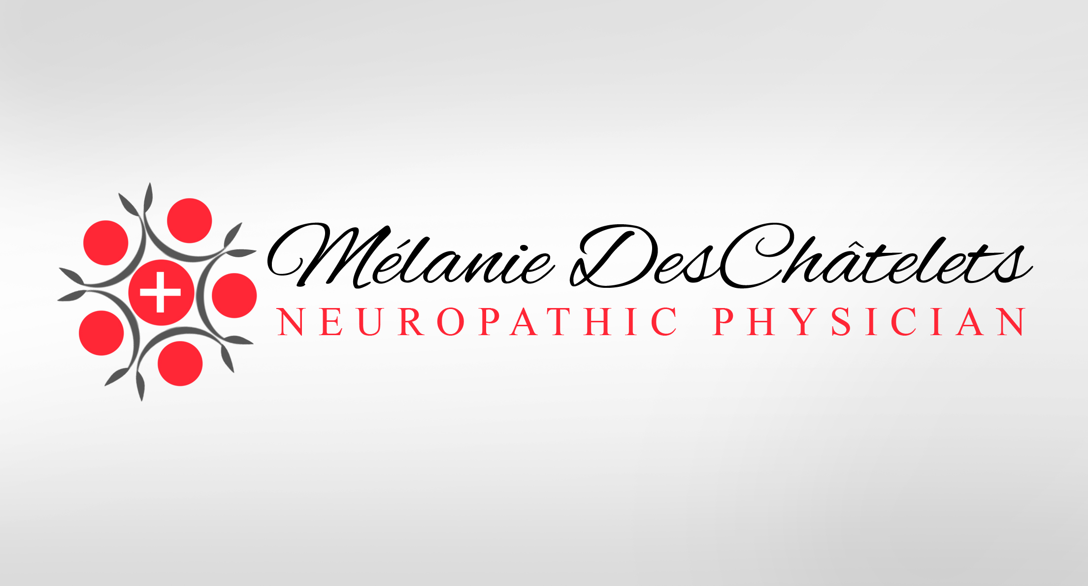 Logo Design by Sandip Kumar - Entry No. 225 in the Logo Design Contest Artistic Logo Design for Dr Mélanie DesChâtelets.