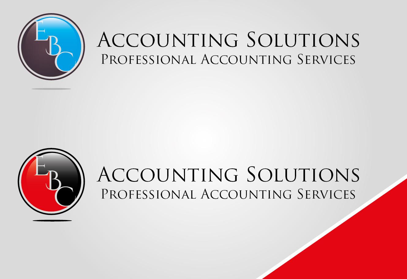 Logo Design by VENTSISLAV KOVACHEV - Entry No. 1 in the Logo Design Contest New Logo Design for EBC Accounting Solutions.