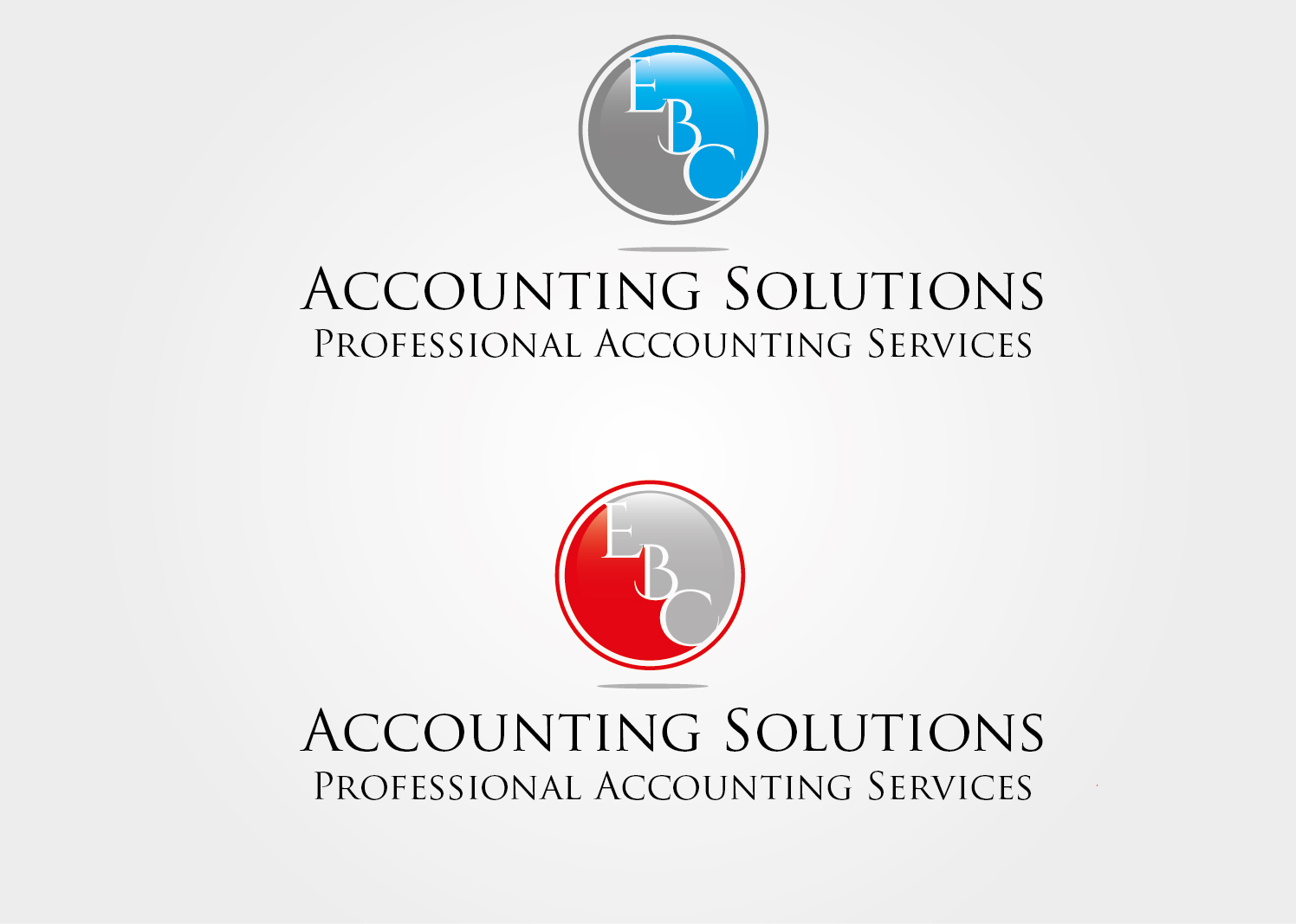 Logo Design by VENTSISLAV KOVACHEV - Entry No. 2 in the Logo Design Contest New Logo Design for EBC Accounting Solutions.