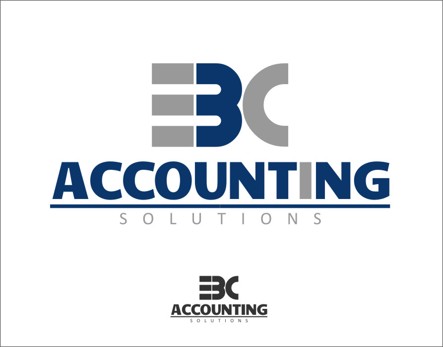 Logo Design by Ngepet_art - Entry No. 3 in the Logo Design Contest New Logo Design for EBC Accounting Solutions.