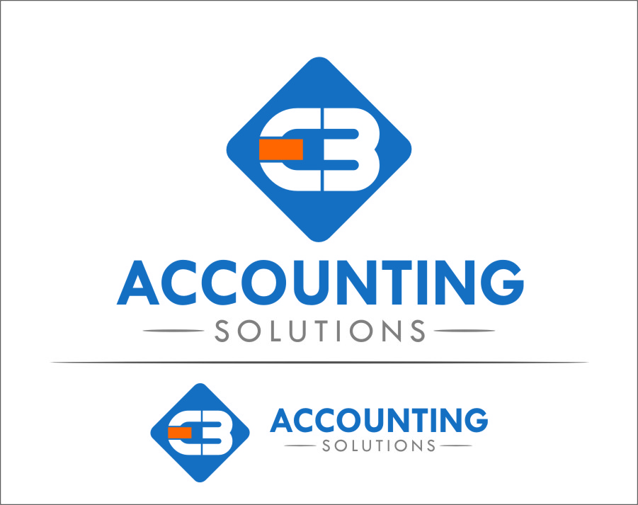 Logo Design by Ngepet_art - Entry No. 5 in the Logo Design Contest New Logo Design for EBC Accounting Solutions.