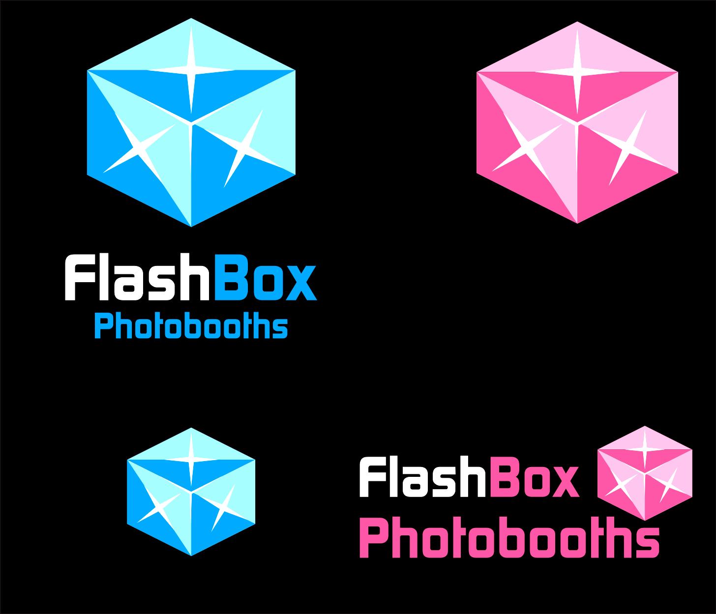 Logo Design by Armada Jamaluddin - Entry No. 90 in the Logo Design Contest New Logo Design for FlashBox Photobooths.